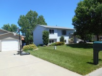 Our old house in Baltic, SD