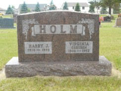 Al's maternal grandparents, Sauk Center Cemetery
