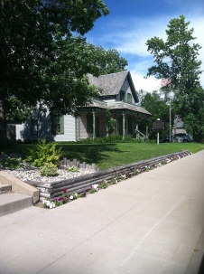 Sinclair Lewis home in Sauk Center, MN
