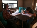 Homeschooling on the Road