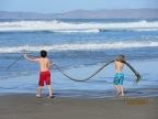 Morro Bay and a Sea Serpent