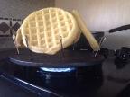 Toasting Waffles in Guymon
