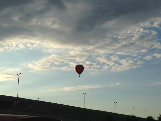 Balloon over Sioux Falls