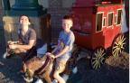 Stagecoach in Tucumcari