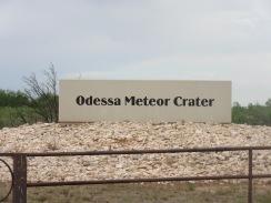 Meteor Crater, Odessa, TX1